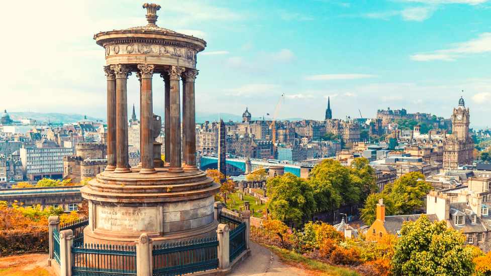My top 5 places to visit in Edinburgh whilst at Heriot-Watt
